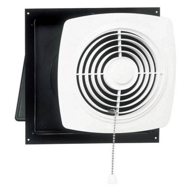 Broan Nutone Through Wall Pull Chain Utility Ventilator Bathroom Exhaust Fan Broan Bathroom Fan