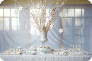 Celebrate winter party theme