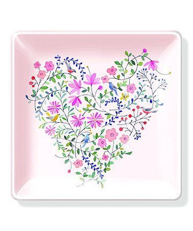 Love This Twiggy Heart Square Decorative Tray On Zulily