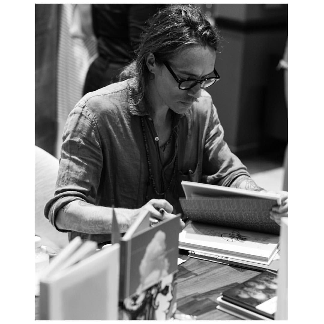 "Brandon Boyd on Instagram: ""Good morning! I wanted to say thank you to everyone that came out to the @thewebstermiami for my little print release/book signing! So nice meeting all of you. And thanks to the Webster as well: y'all have a fancy shop there and it made me feel more spicy than usual to be hanging out in such a place. ✌️  by @justinwysong"""