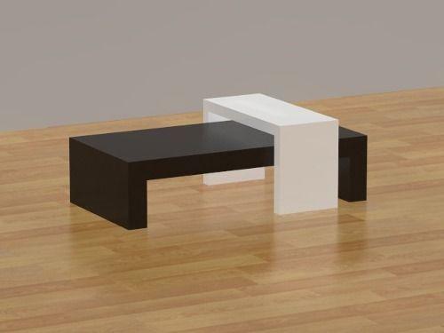 mesas de centro minimalistas diseño y más Pinterest Mesas de