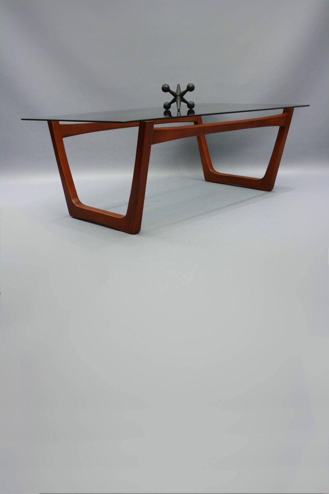 Mid Century Large Sleigh Leg Coffee Table Teak Glass Retro Vintage Danish Eames Vic Ebay 360 Mod Mid Century Coffee Table Mcm Dining Table Teak Dining Table [ 1600 x 1066 Pixel ]