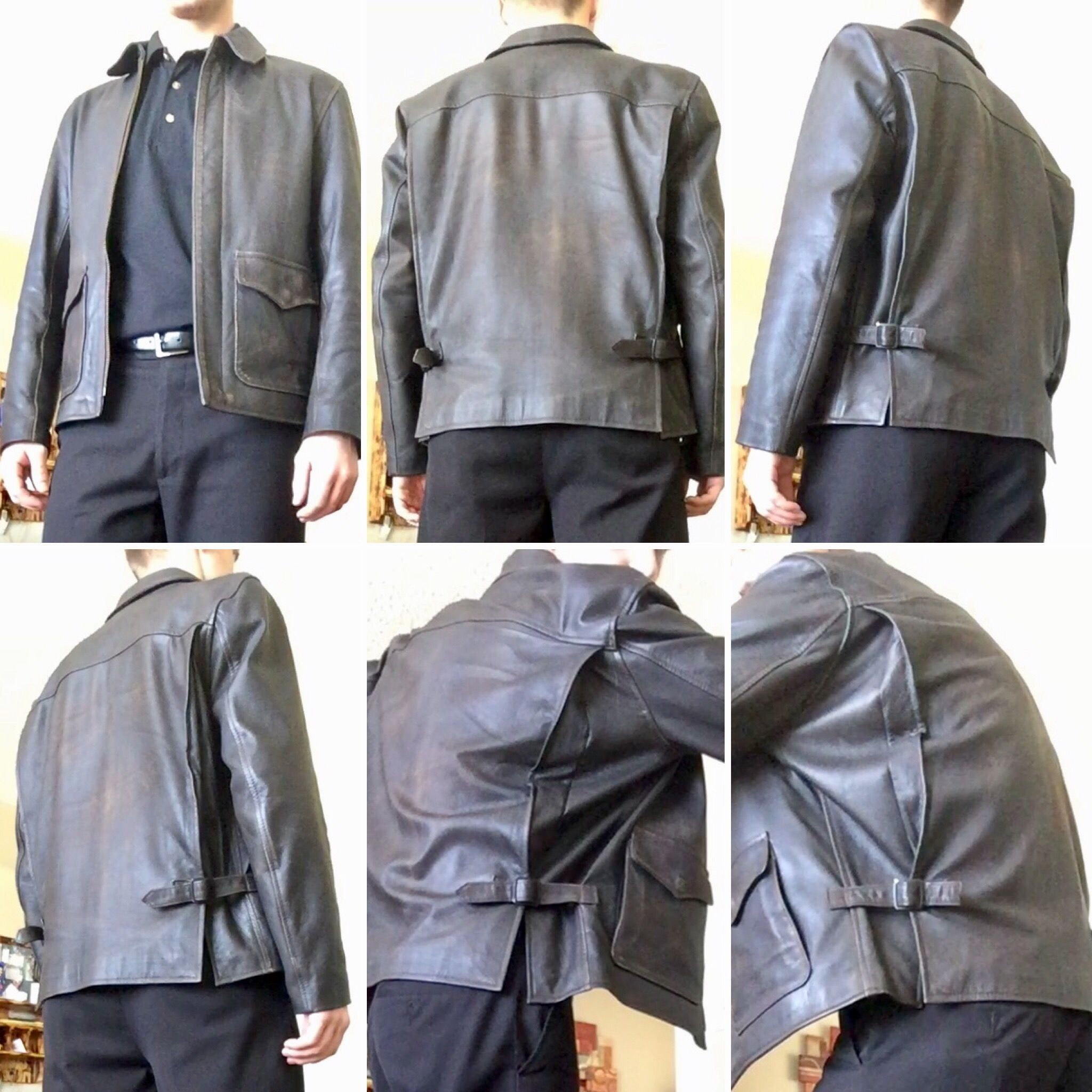 bcfbebe4314 Wested Leather  Raiders  Jacket in Goatskin (not  Hero )