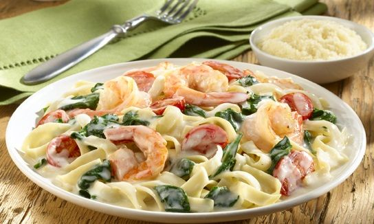 Creamy Shrimp Alfredo Looks Like A Much Better Version Of