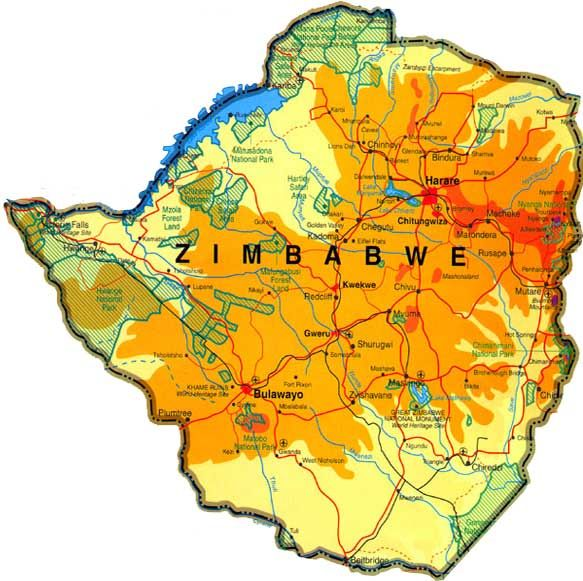 Zimbabweobviously the garden spot of Africabut it has been
