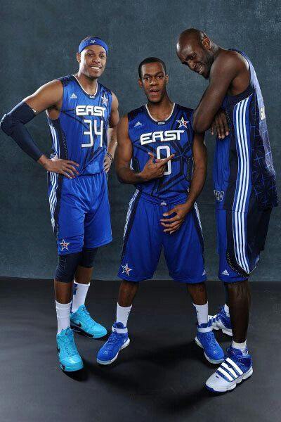 uk availability fb009 81486 Paul Pierce, Rajon Rondo & Kevin Garnett | NBA Lengends ...