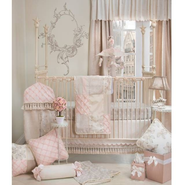 Glenna Jean Florence 3 Piece Crib Bedding Set From Bed