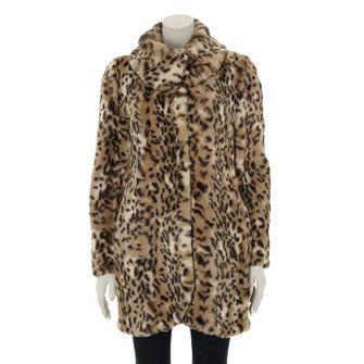 f0f7d584053e Antoni & Alison Leopard Print Coat from TK Maxx | Winter Coats ...