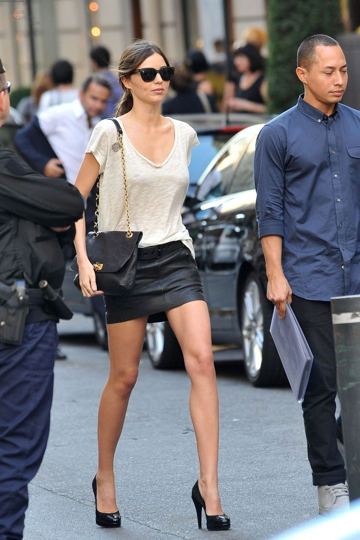 17 Best images about Black leather skirt ideas 2014 on Pinterest ...