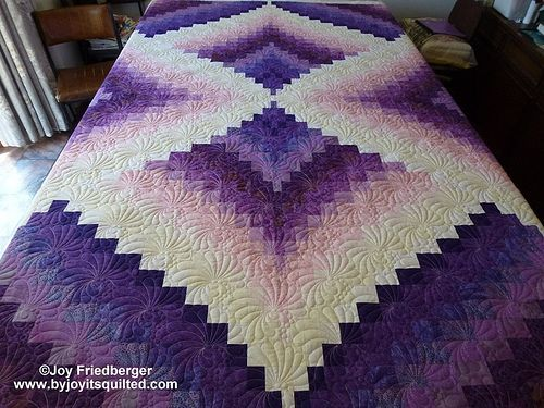 This one I just took off machine the customer is picking it up this morning  Dianne C by By Joy It's Quilted -Joy Friedberger, on Flickr  Dianne C by By Joy...
