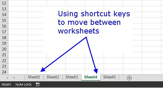 Here S How To Move Around And Between Worksheet Tabs In Excel