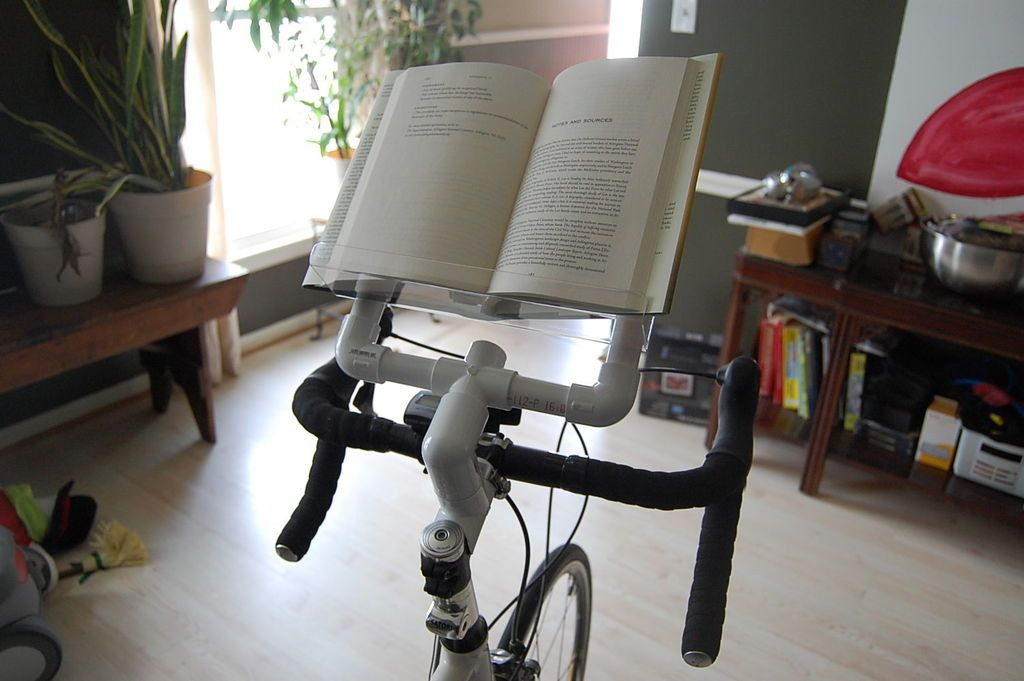 Bike Book Holder Book holders, Diy book holder, Diy book