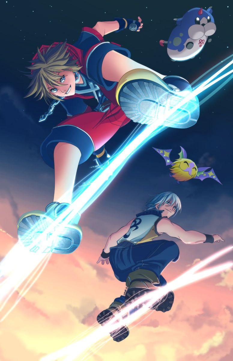 Kingdom Hearts Dream Drop Distance By Suzuran Deviantart Com On