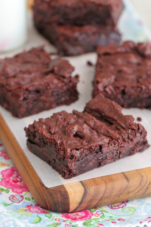 How To Make Homemade Box Mix Brownies Recipe Brownie Recipes