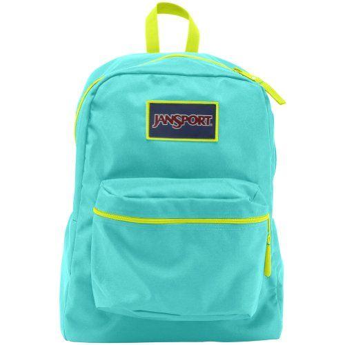 neon coral jansport backpack - Google Search | ♡Backpacks ...