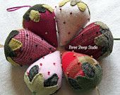 Cute!  Beaded Berries Kit. ThreeSheepStudio on Etsy.