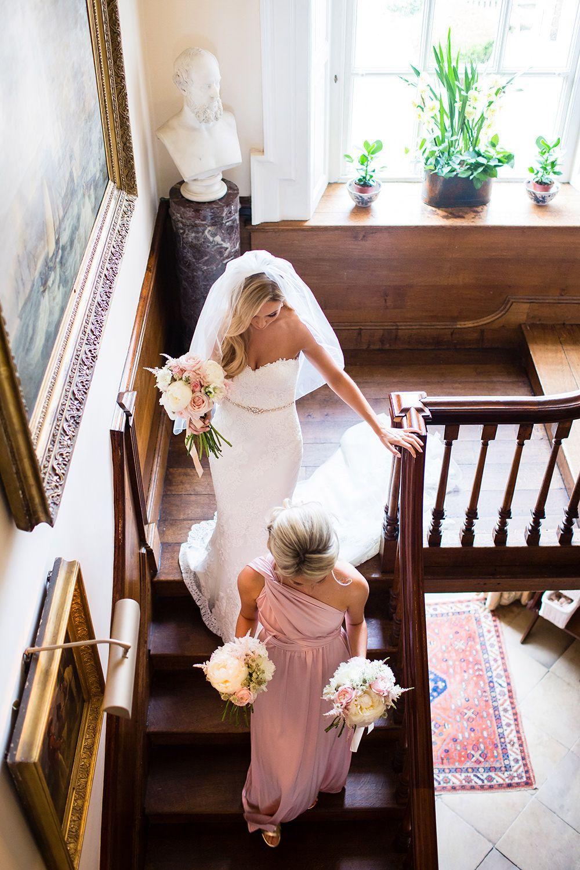 Preloved pronovias wedding dresses  Romantic Blush Pink Wedding at Iscoyd Park with Pronovias Bridal