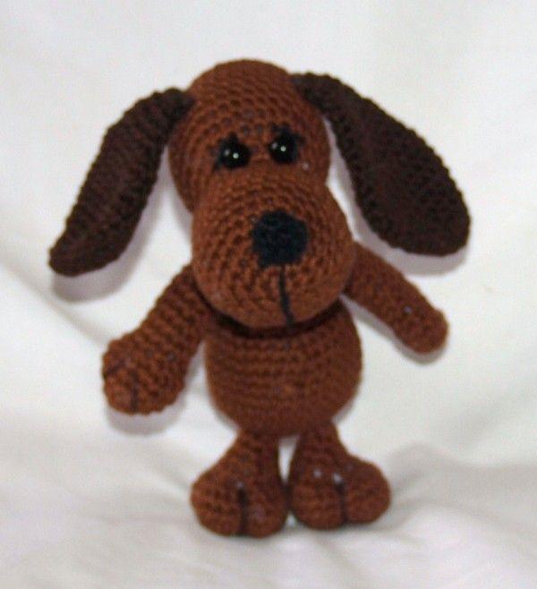 Hund selber häkeln ✓ PDF-Häkelanleitung ✓ | babies | Pinterest ...
