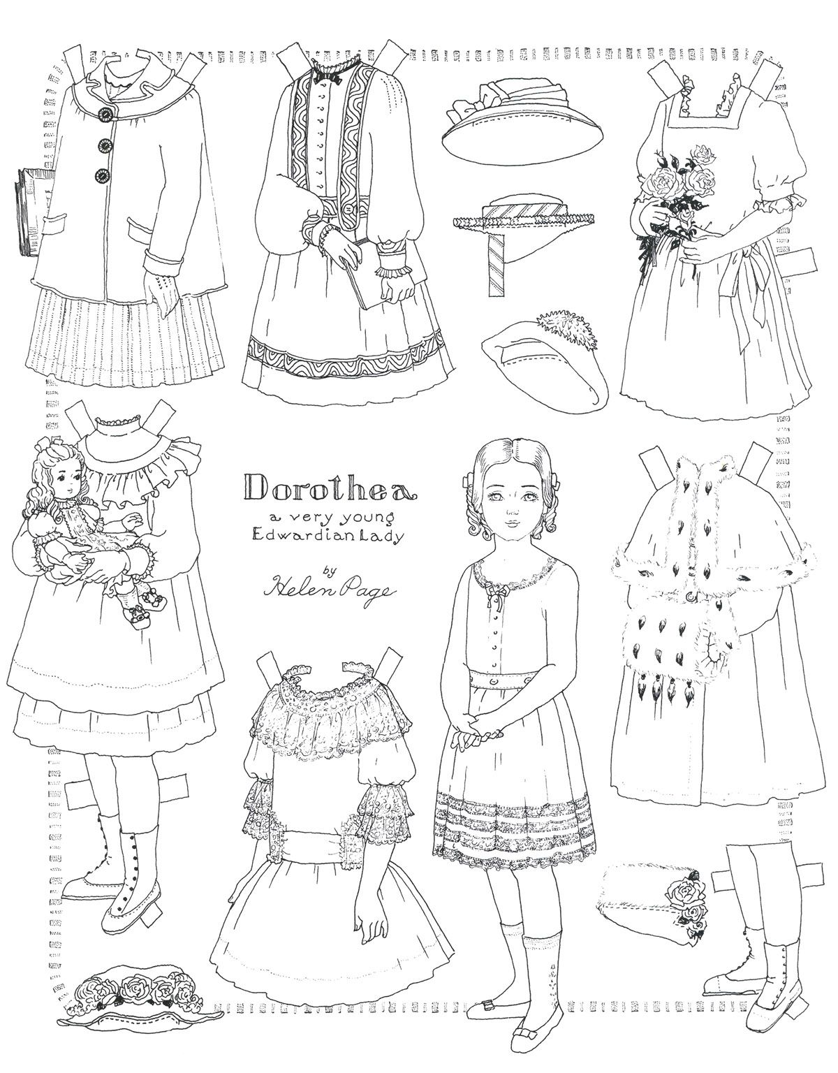 Marilee's Paperdoll Page II: Printable Children & Teenager