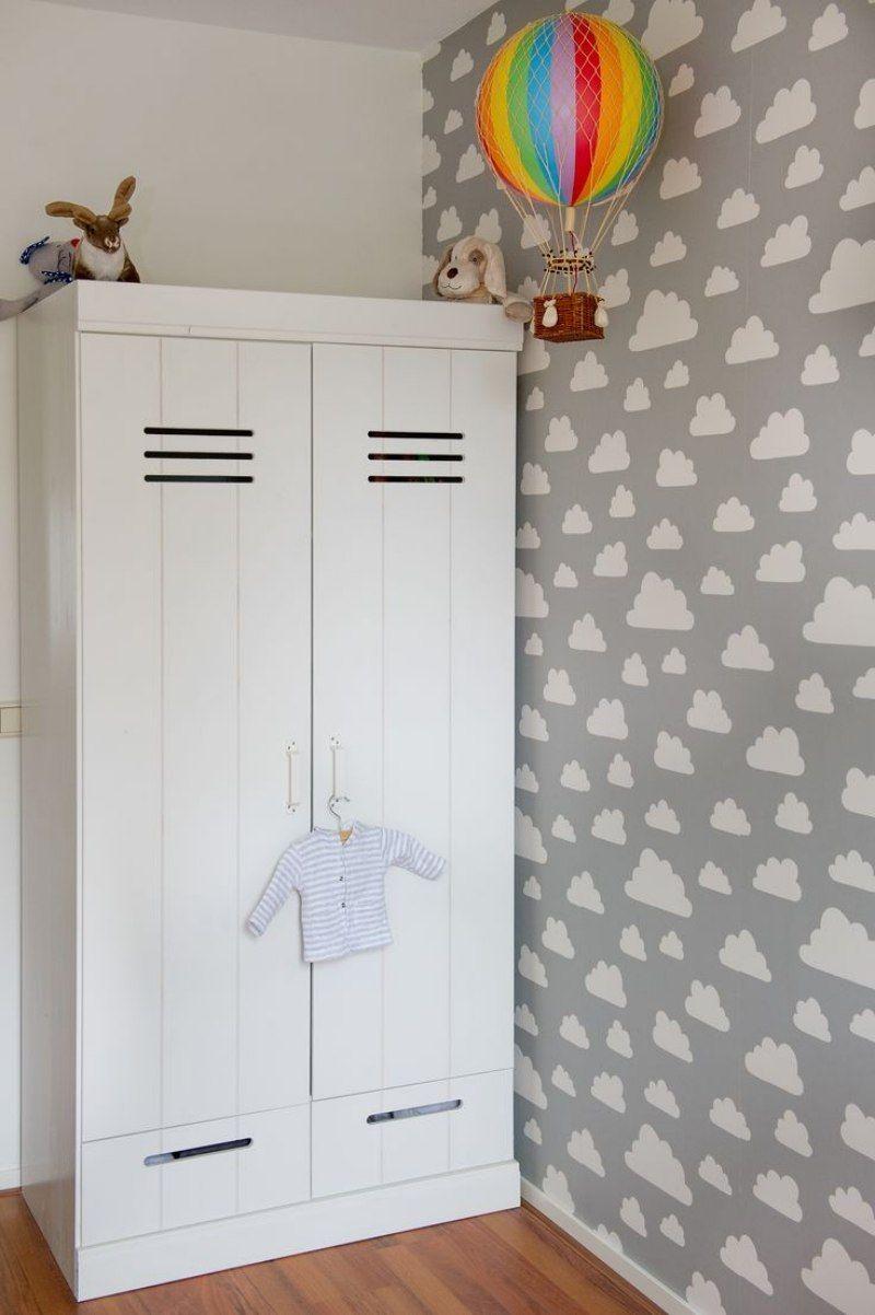 Ungewöhnlich Kinderzimmer Wolken Tapete Galerie - Schlafzimmer Ideen ...