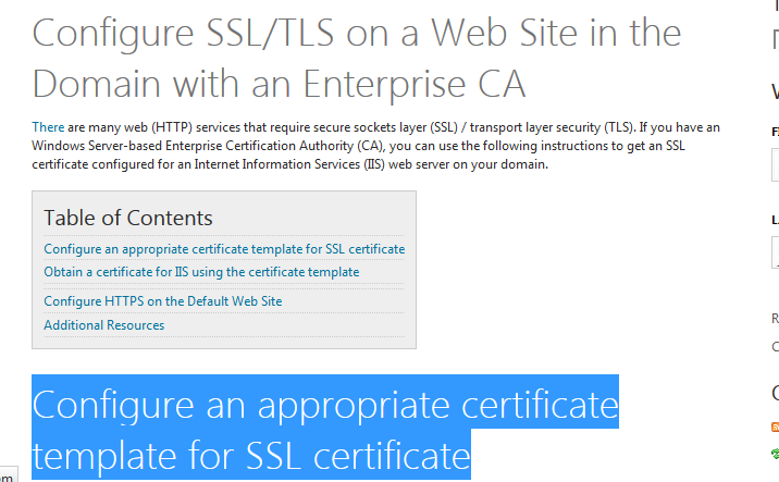 Configure an appropriate certificate template for ssl certificate microsoft configure an appropriate certificate template for ssl certificate yelopaper