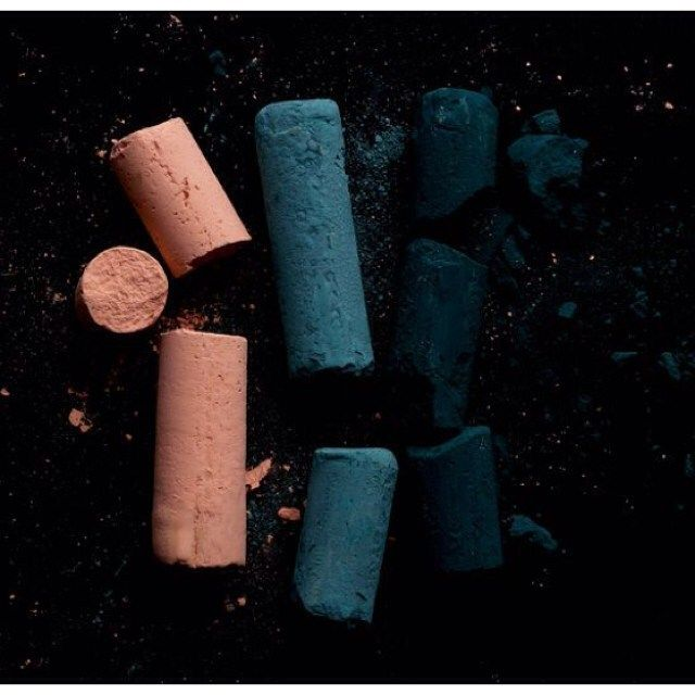 Chalk in pink blue and black.. All decisions for the upcoming AW16 Collection is taken and without revealing too much I promise you that these beautiful colors are among the chosen one.. by christinarohde_