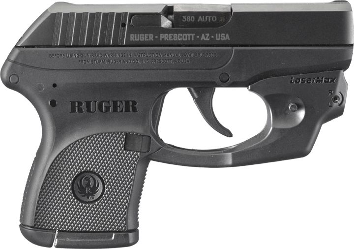 Ruger LCP and LC9 Pistols with LaserMax CenterFire laser