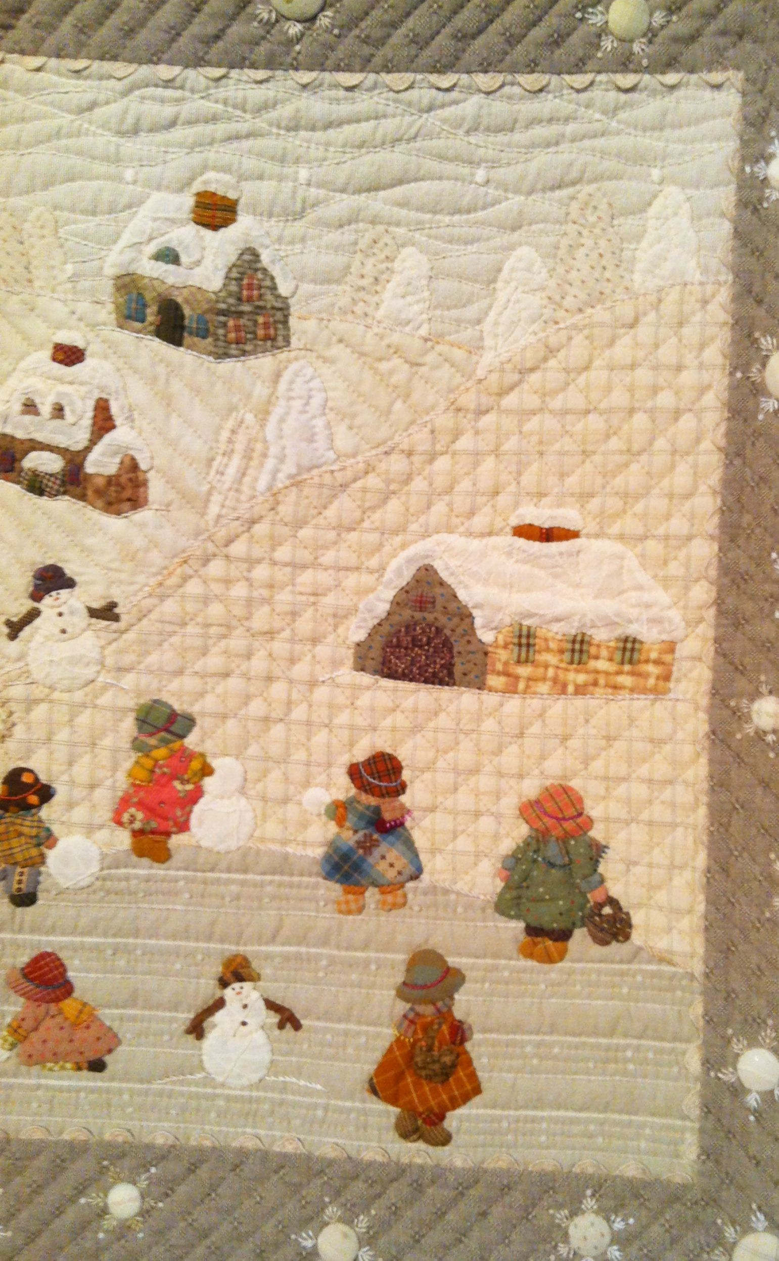 The Quilt Festival Exhibit of Japanese quilts inspired by the work ...