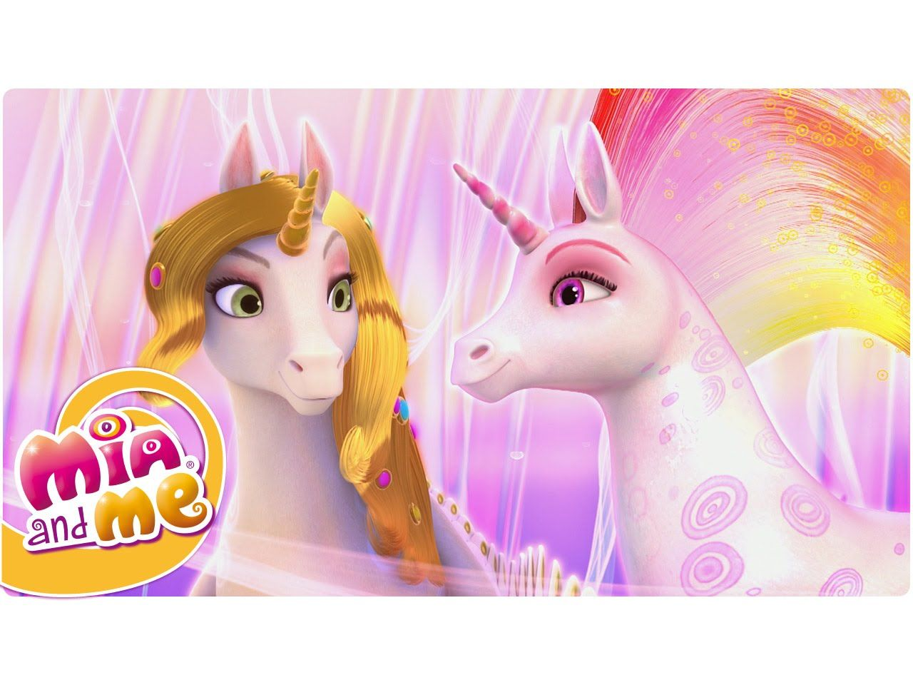 Mia and me unicorn coloring pages - Mia And Me The Magical Unicorns Of Centopia