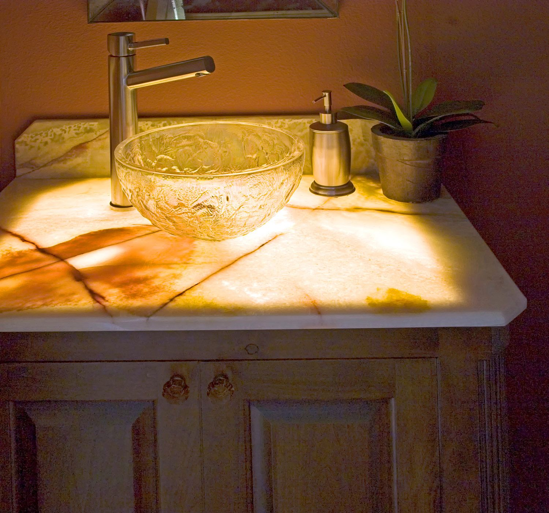 Home Decoration Forum: Pls Show Vanity Tops That Are NOT Granite,quartz,or Solid