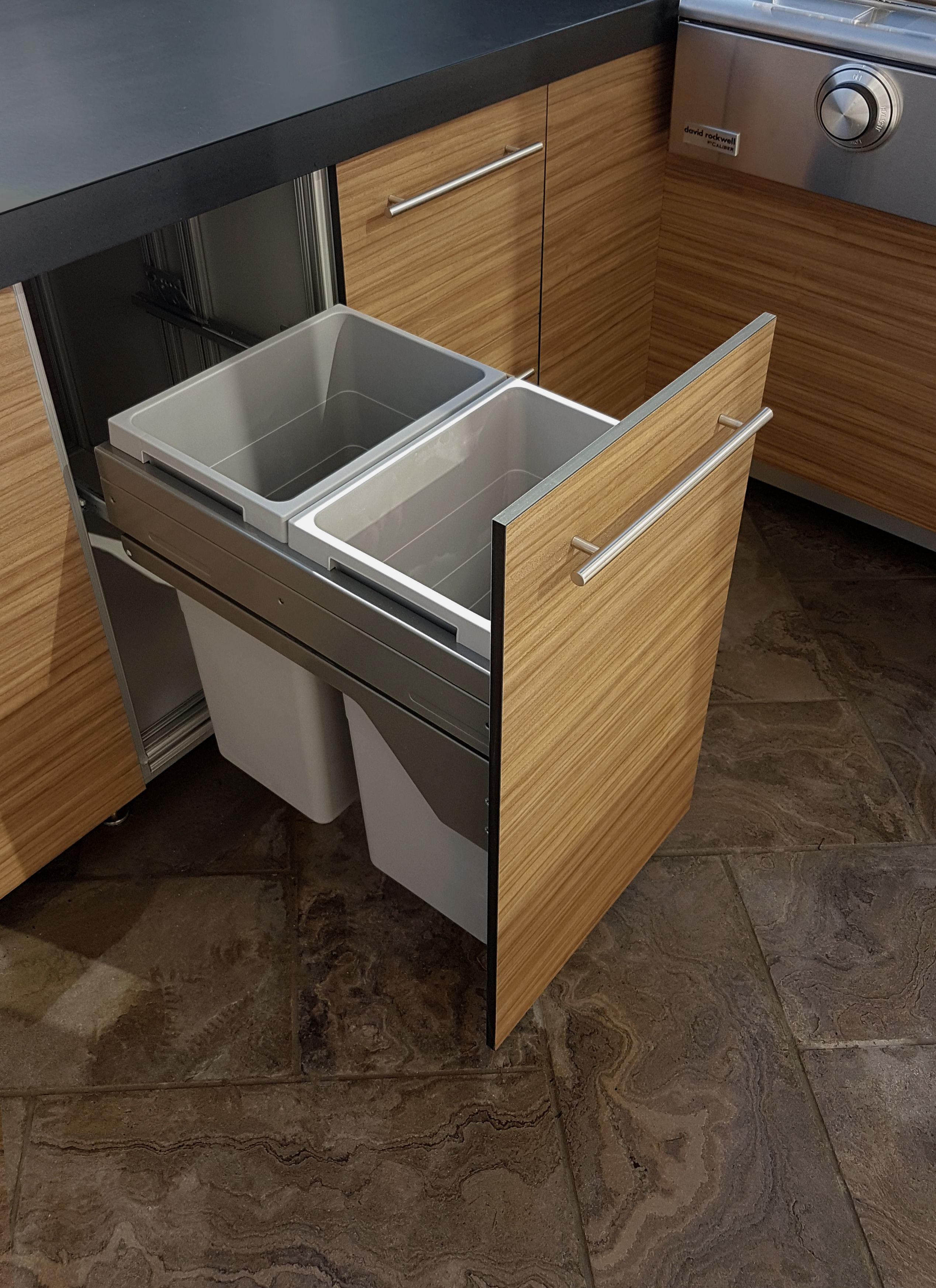 Built In Waste Recycling Drawer Outdoor Kitchen Cabinetry Outdoor Kitchen Built In Pantry Kitchen Cabinetry
