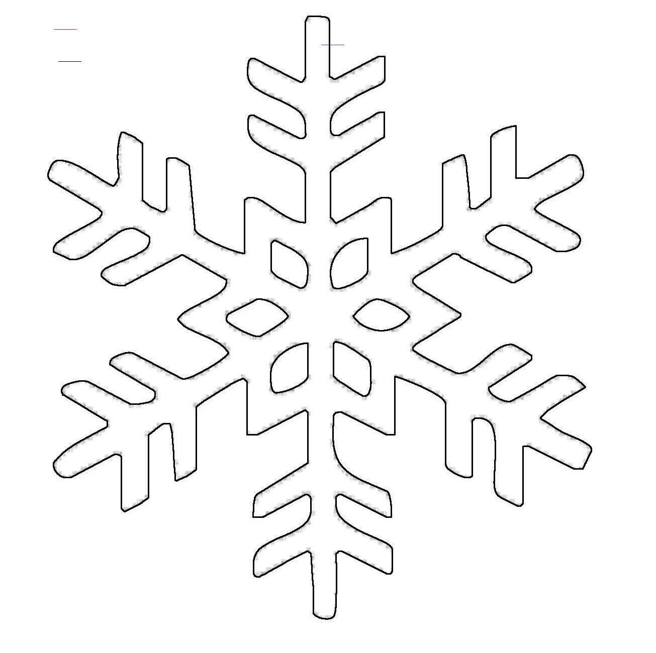 Besten Ideen Fur Malvorlagen Schneeflocken