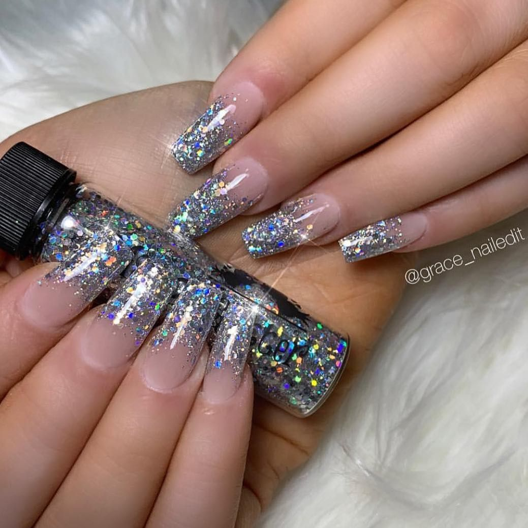 Magpie Beauty On Instagram Magpie Glitter Dotty Tara Www Magpiebeauty Co Uk Thank You Grace Nai Nail Designs Holographic Glitter Nail Artist