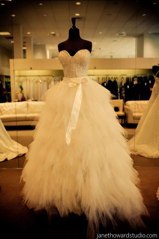 Princess Wedding Gown Wedding Gallery | VibrantBride.com