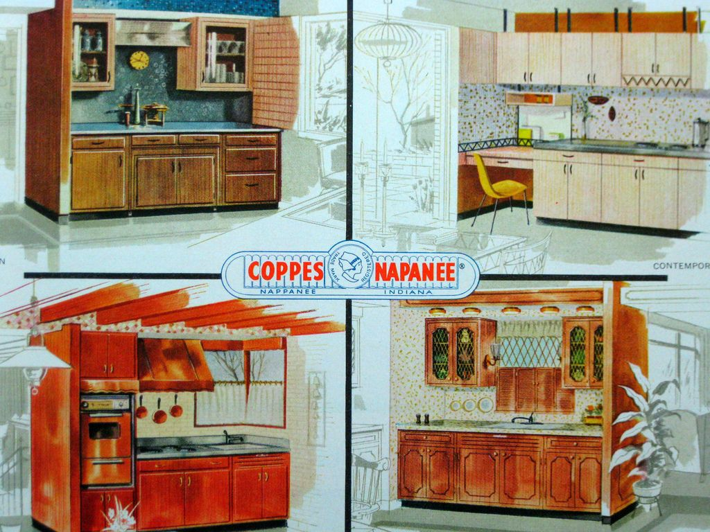 Coppes Napanee Nappanee New Homes Vintage Kitchen