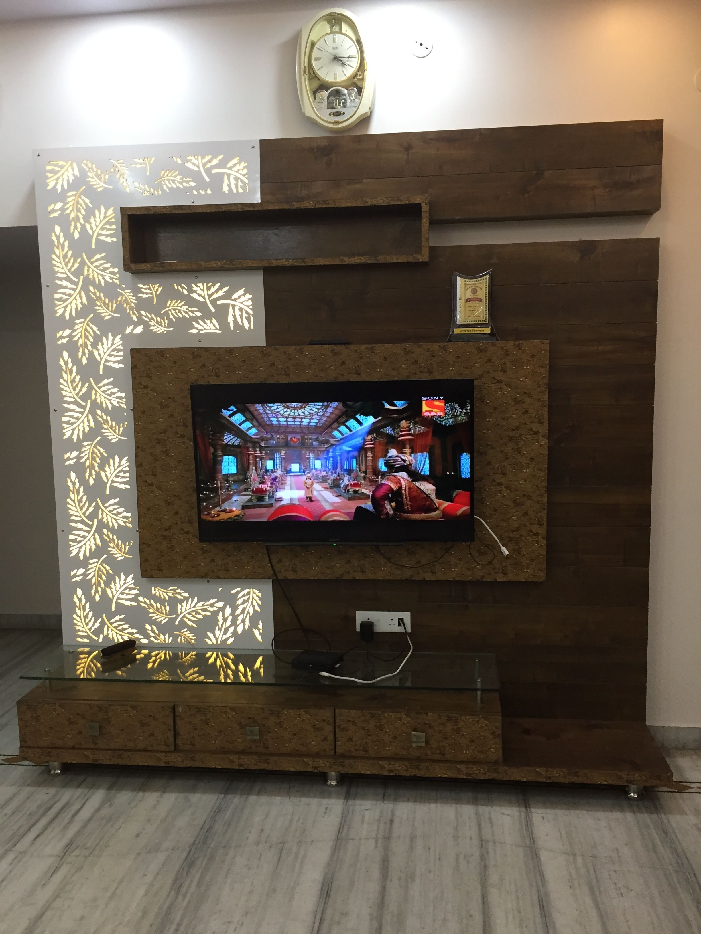 Tv Unit In Living Room: Modern Tv Wall Units, Lcd Unit Design