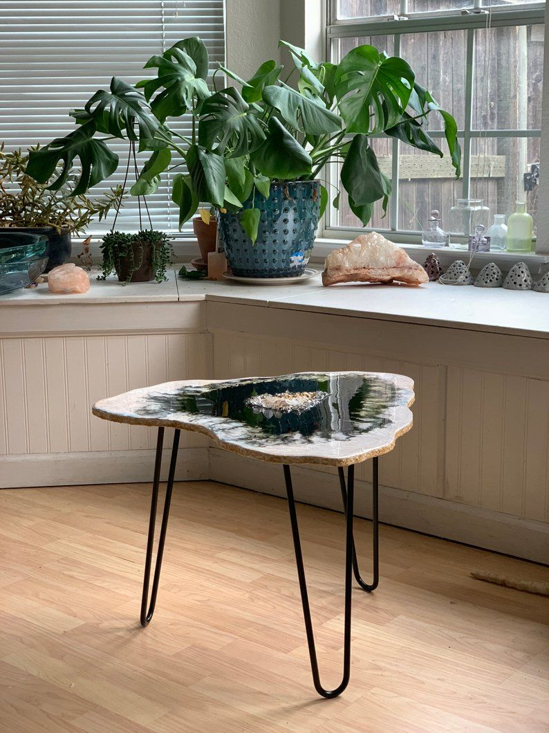 custom coffee table boho chic furniture small table side etsy in 2020 custom coffee table on boho chic kitchen table decor id=25294