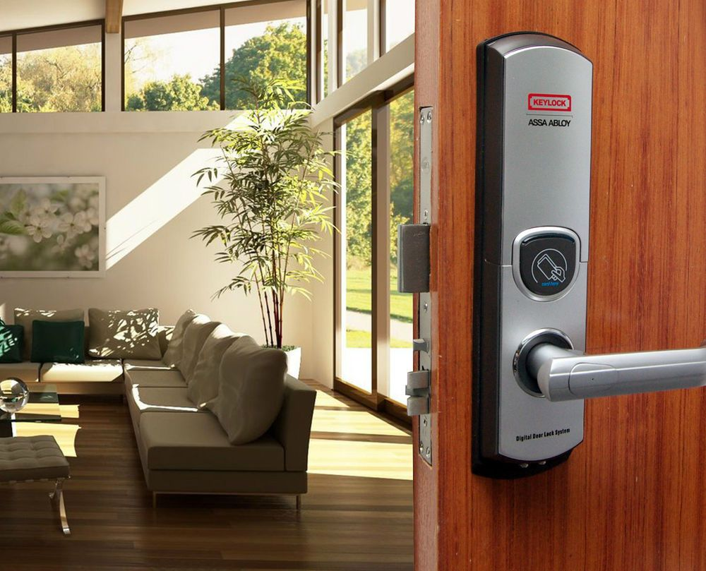 Details about 3 in 1 Weatherproof Keypad Mifare Card Deadbolt