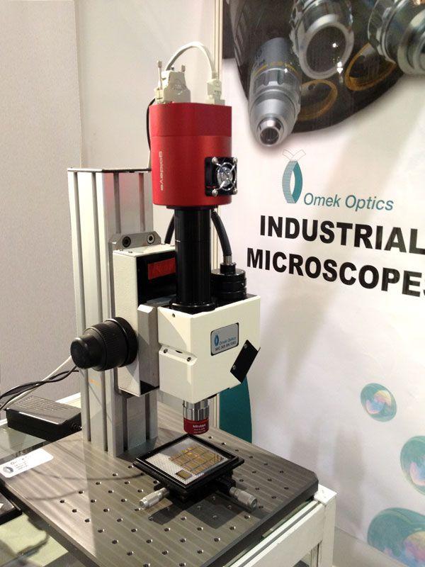 Microscopio Omek Con Camara Goldeye De Alliedvisiontec Nuevas Tecnologias Vision Artificial Tecnologia