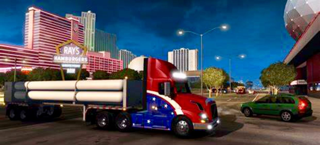 Pin By Paulie On Everything Gaming Etc American Truck Simulator