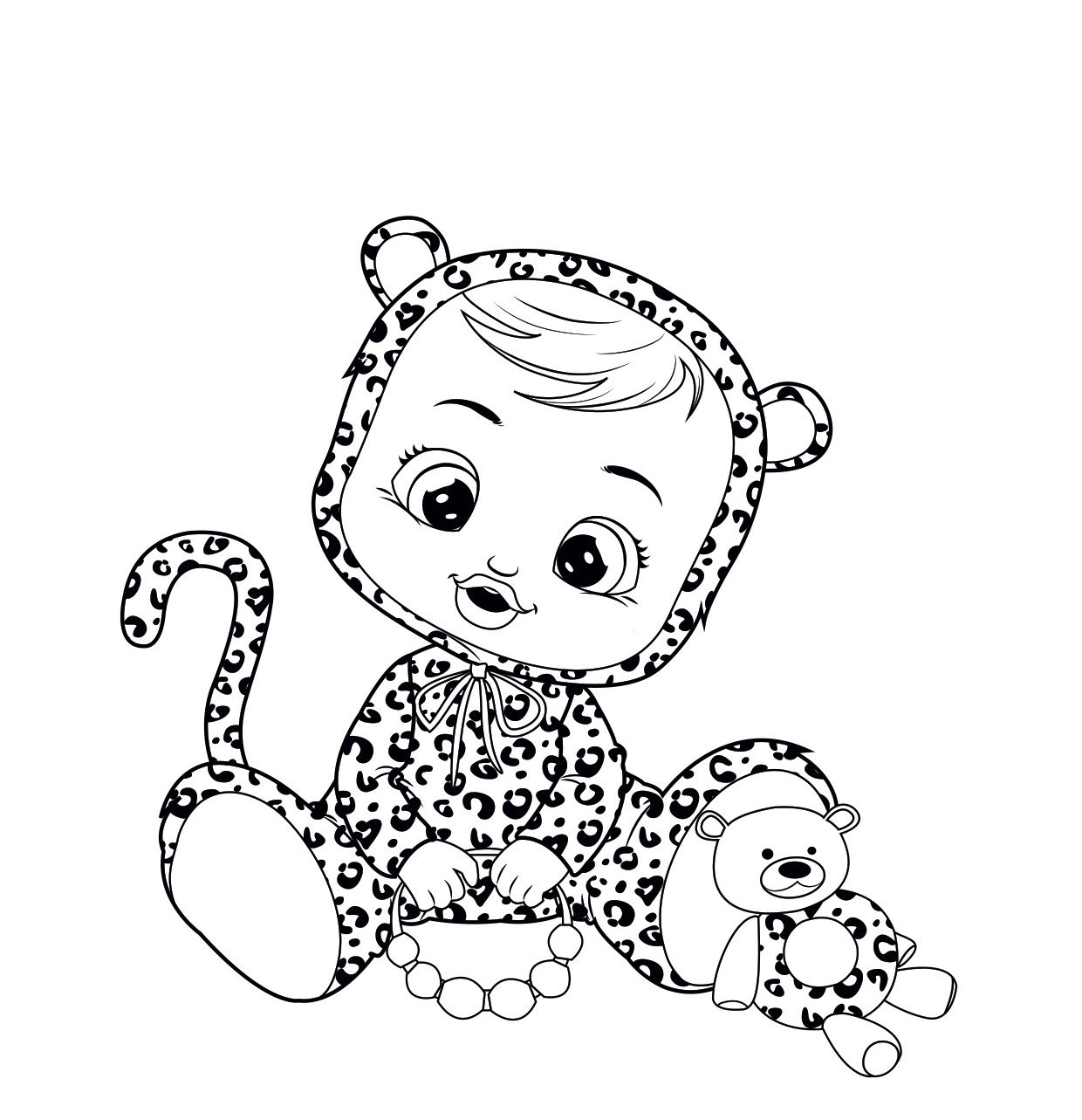 Do You Want To Paint Lea Baby Coloring Pages Baby Cartoon Baby Colors