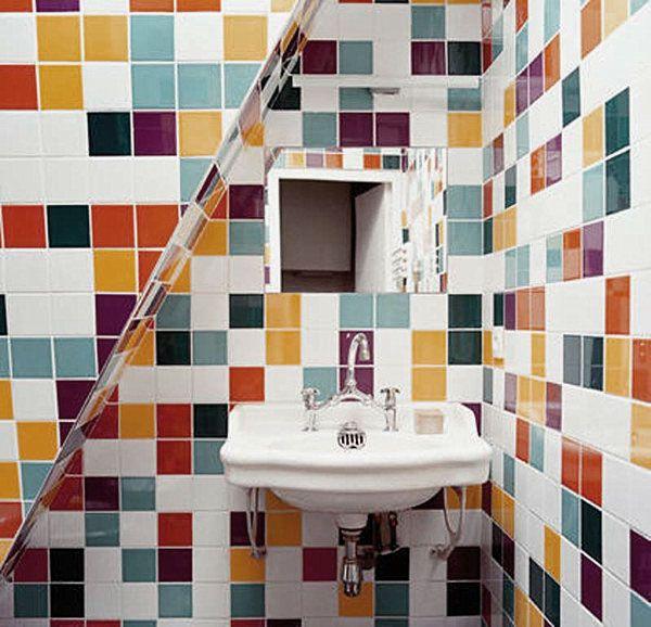 Colorful Tile Bathroom Decorating Ideas Interior design