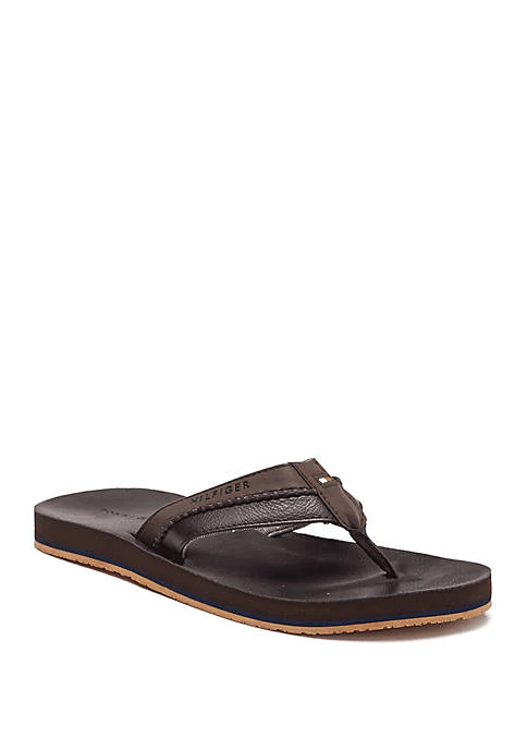 Dilly Sandals Mens Leather Sandals Tommy Hilfiger Sandals