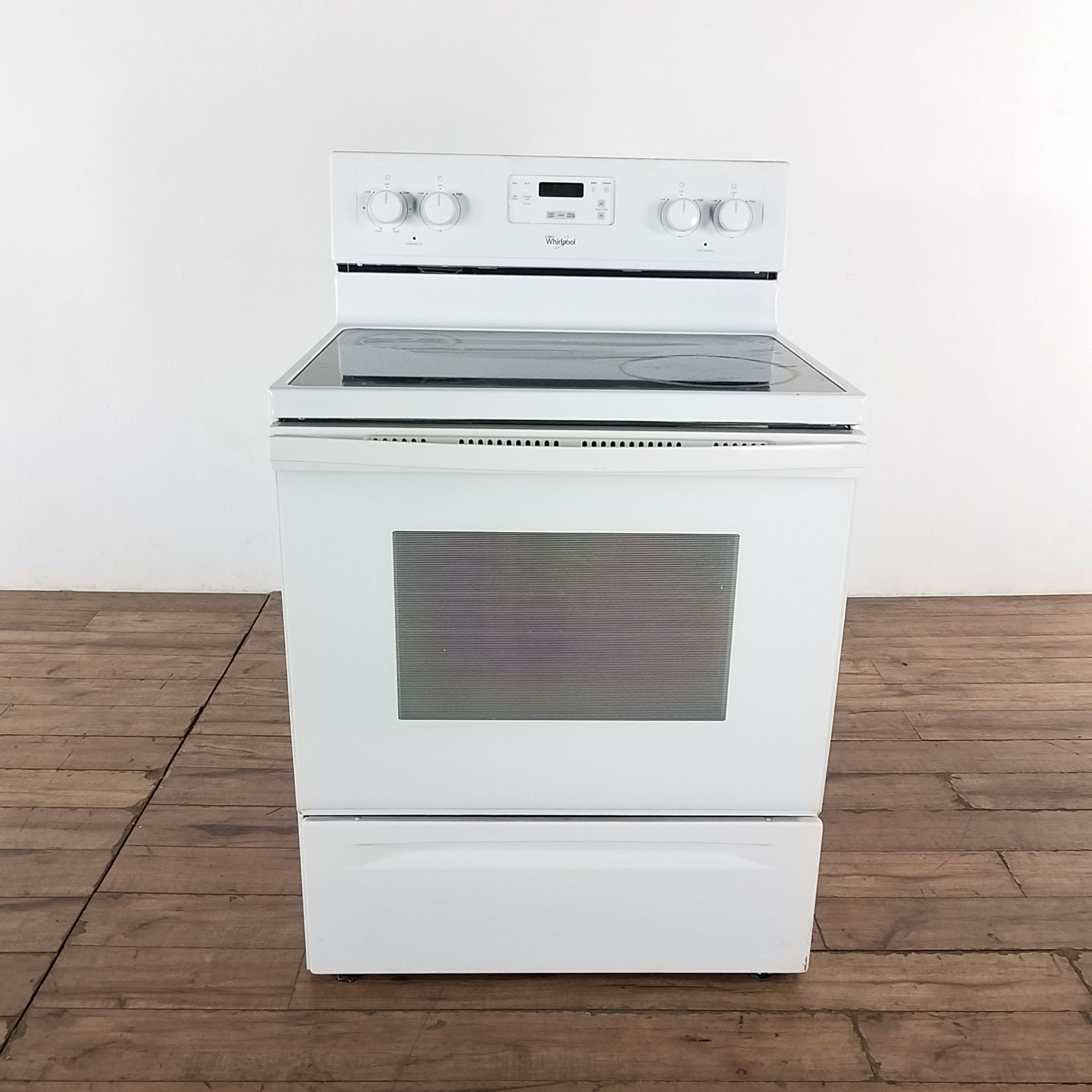 Whirlpool Glass Top Stove With Oven Glass Top Whirlpool Stove