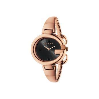 02519cf82 Relógio Gucci Feminino Aço Rosé - YA134305   Relógios kika   Relógio ...