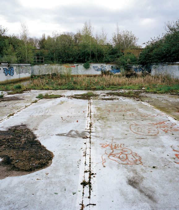 Absence Of Water Series By Gigi Cifali Eltham Park Lido London Opened 1924 Closed 1988