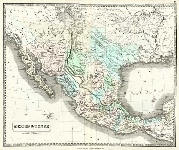 mexico texas barry lawrence ruderman antique maps