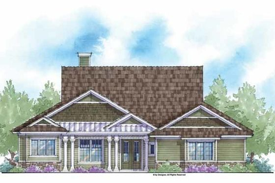 Country Style House Plan 3 Beds 3 Baths 2780 Sq Ft Plan