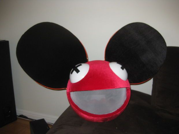 How To Build Your Own Deadmau5 Mouse Head Helmet Build Your Own Rave Gear Helmet Head