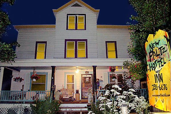 New Paltz Hostel & Inn, NY. Lots of fun, family friendly, close to town. Stayed with two teens and a guinea pig!